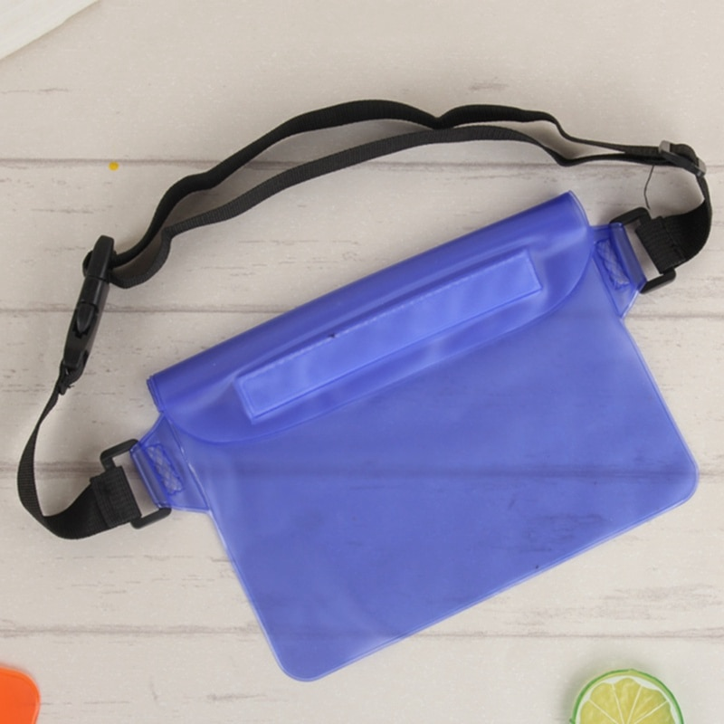 Summer Sport Beach Waterproof PVC Swimming Package Belt Holder Dry Bag Pouch & Strap Sealing Strip Pouch