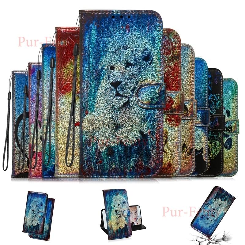 Funda para Huawei P20 Global EML-L29 EML-L09 cartera Panda cuero soporte magnético...