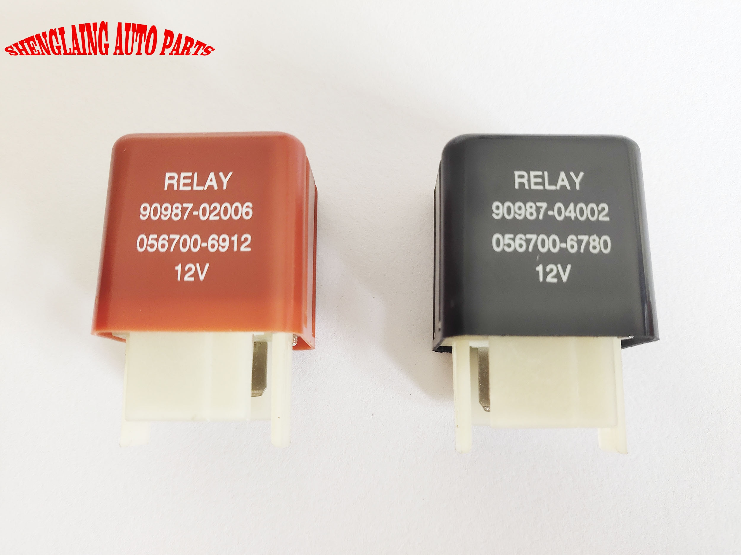 Car Relay  for  Camry 90987-02006  12V 4PIN  / 90987-04002 12V 5PIN Radiator Fan Relay Blower Motor Relay