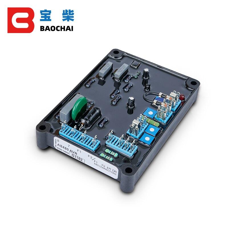 Оригинальный регулятор переменного тока avr stamford as480 200kw трехфазный генератор
