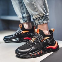 men sneakers 2021 new flying woven high waist men breathable tide shoes flat running casual shoes zapatos deportivos