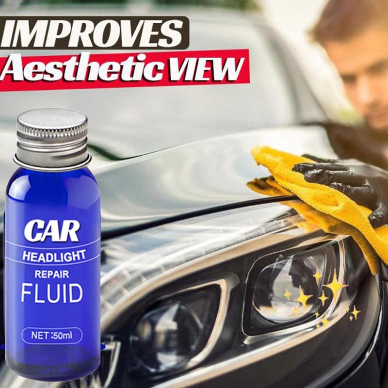 Ремонт автомобильных фар жидкая полировка фар Защита от царапин и обслуживания