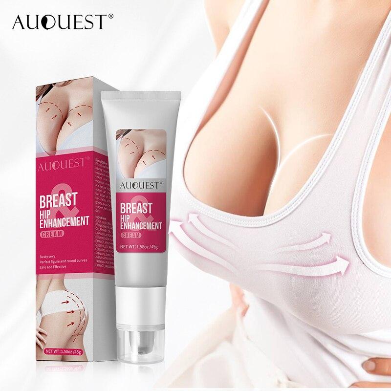 AUQUEST Butt Breast Enhancement Cream Hip Buttock Fast Growth Butt Breast Lift Firming Massage Up Si