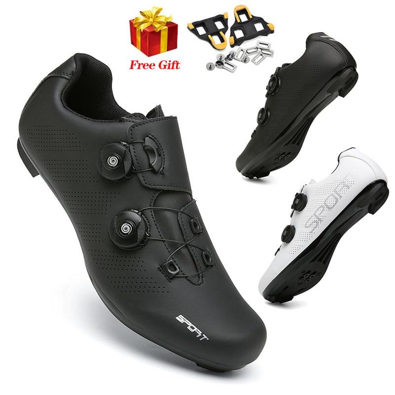 2021 Summer Mountain Bike Shoes Cycling Sneakers MTB Men Road Speed Racing Women Bicycle Shoe Spd Cleat Flat Sport Cycling Shoes