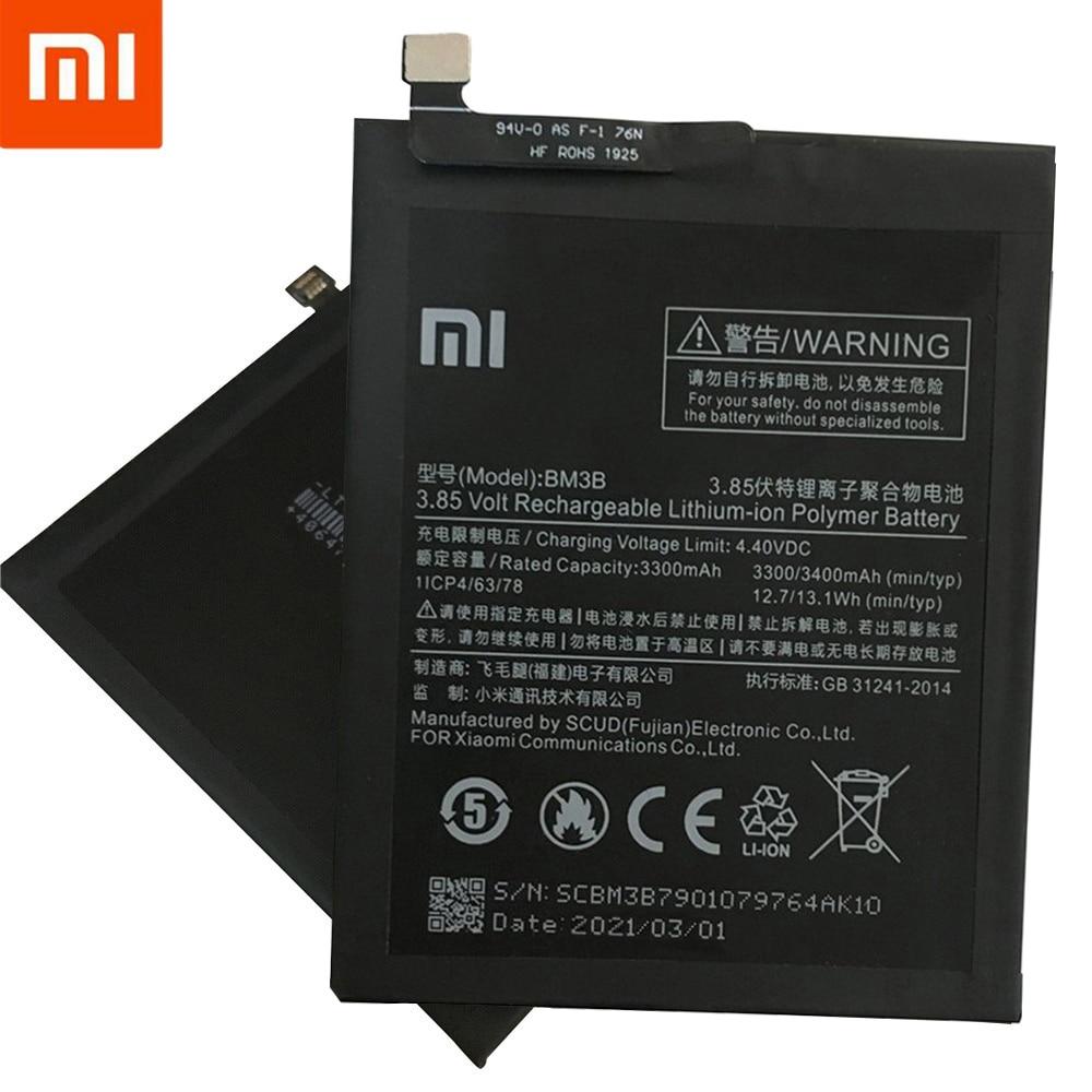 100% Original Xiao Mi Original Replacement Battery BM3B For Xiaomi MIX 2 2S 3300mAh High Capacity Phone Batteries Free Tools