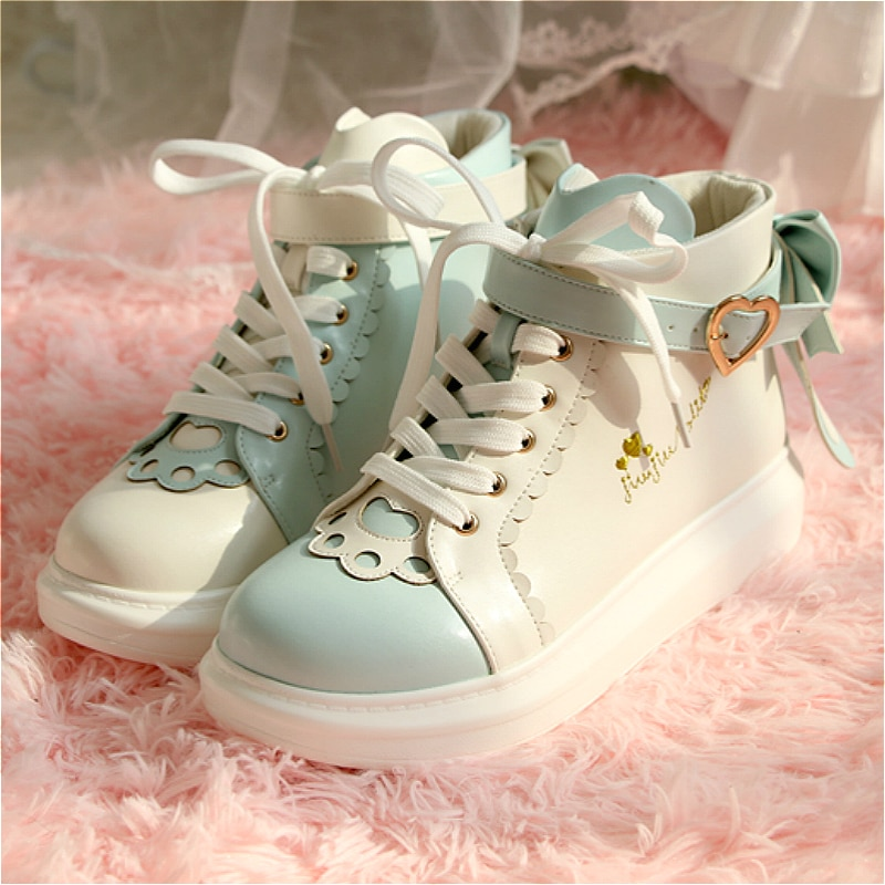 أحذية لوليتا كلاسيكية ذات رأس دائري للنساء ، أحذية رياضية للمراهقين ، مريحة ، زي تنكري ، لوليتا JK
