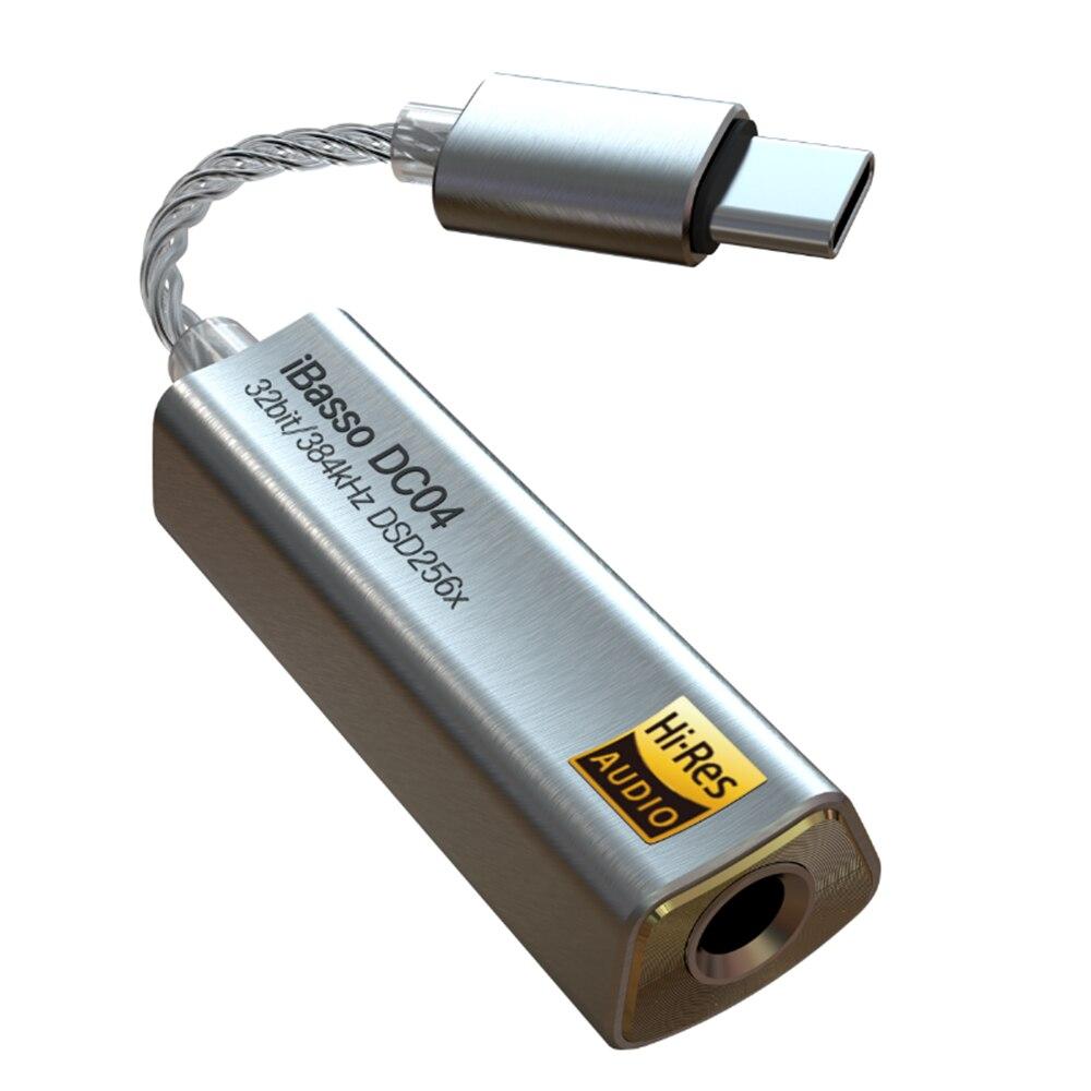 IBasso DC04 dekodierung amp typ-c zu 4,4 handy lossless hifi headset audio dekodierung linie