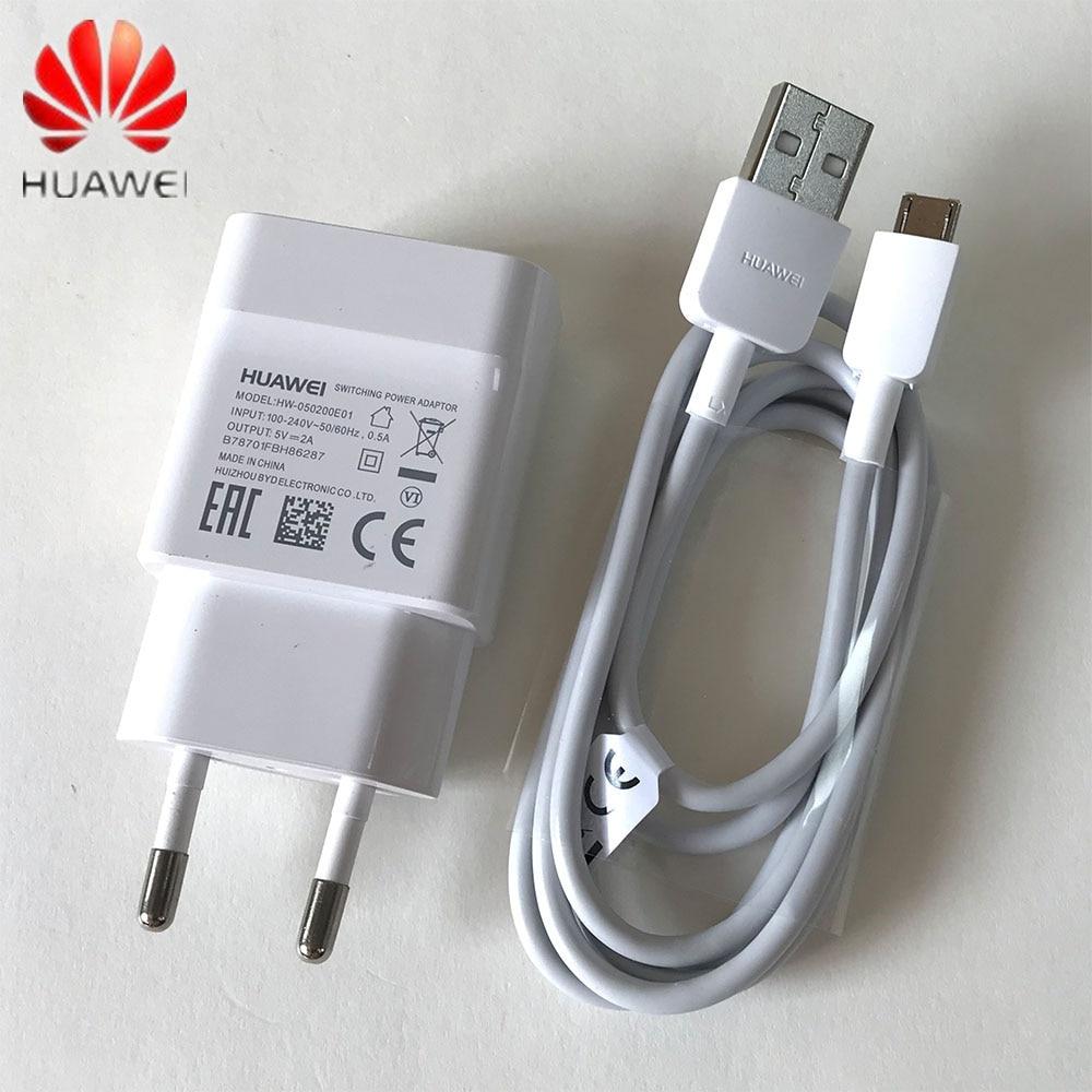Оригинальный EU US huawei mate 10 Lite зарядка 5V2A зарядное устройство и микро кабель для p8 p9 p10 lite mate 10 lite Honor 8x 7x y5 y6 y7 y9