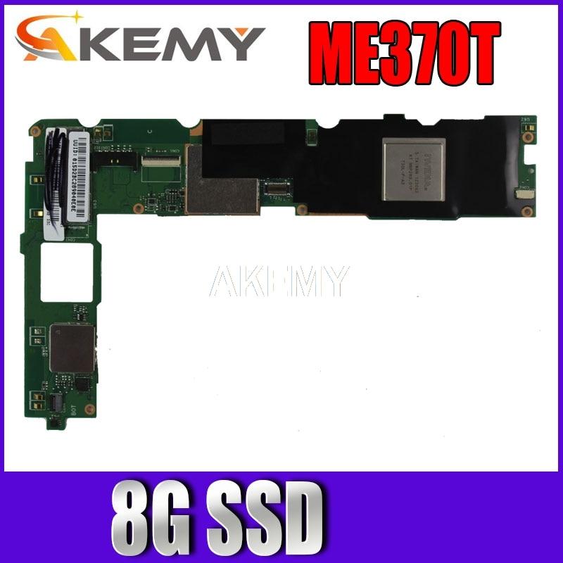 New! original For ASUS Eee Pad MeMO ME370T Tablets motherboard mianboard logic board W 8G SSD