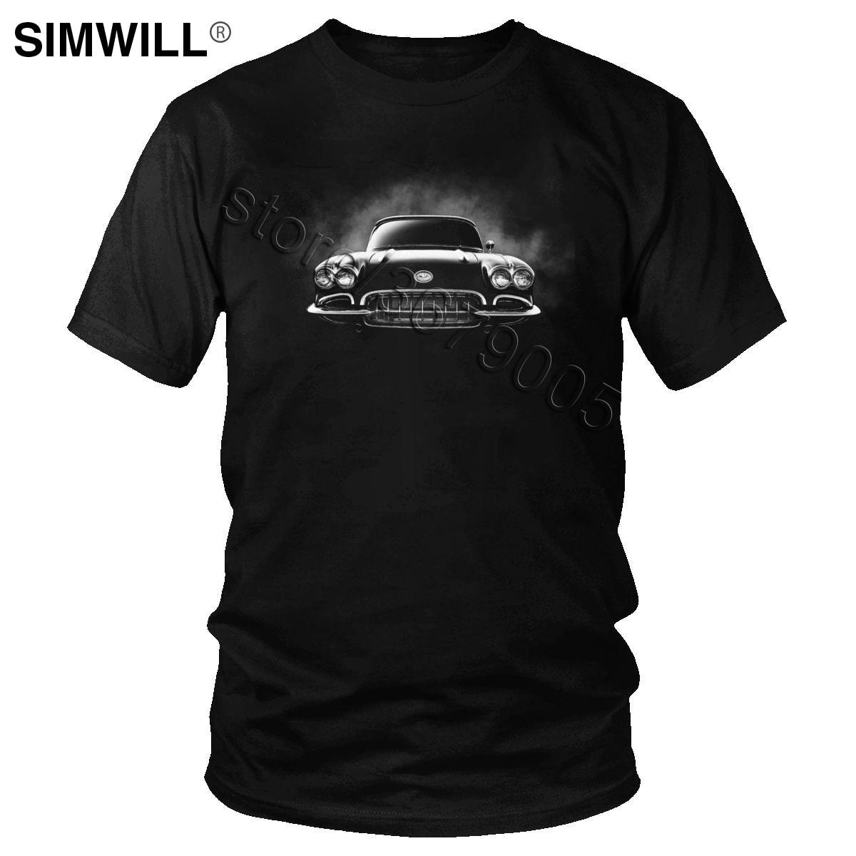 Camisetas clásicas de carreras para hombre, Camiseta de algodón con manga corta y velocidad, camiseta con gráfico de marca de lujo para hombre, Camiseta ajustada de verano