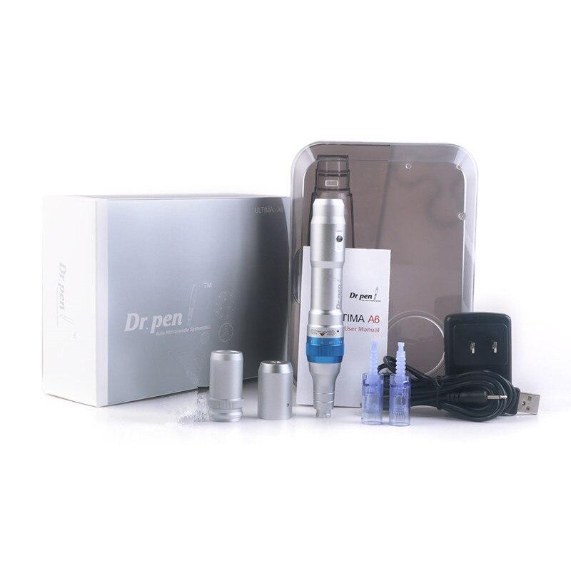 Dr.Pen-máquina de maquillaje eléctrica A6, Pluma sin aguja para tatuaje Permanente Microblading,...