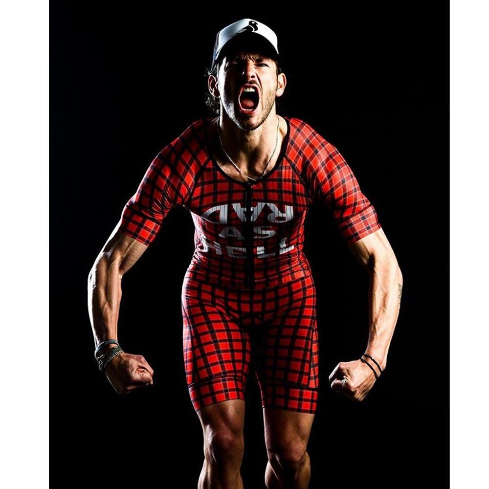 Uwielbiam ból kombinezon triathlon mężczyzna aero z krótkim rękawem tri garnitur kombinezon kolarski roupa ciclismo roadbike body skinuit