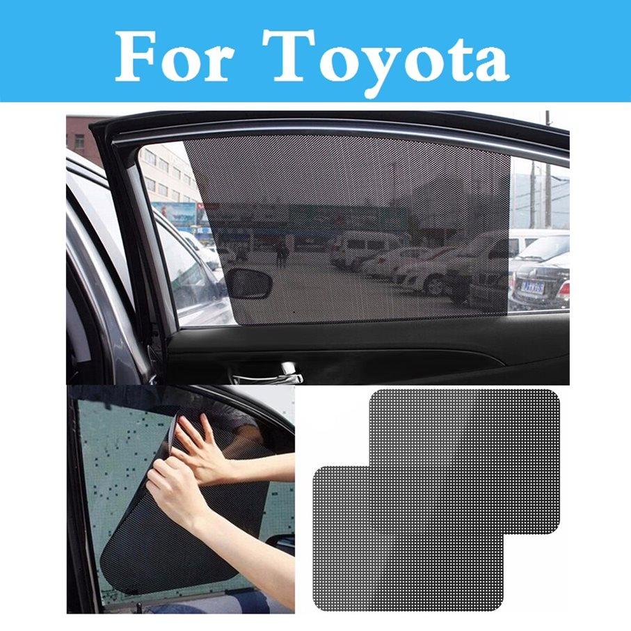 Parasol de coche cortina de la ventana del coche parasol cubre para Toyota Corolla Camry Solara Celica ist siglo Corolla Fielder