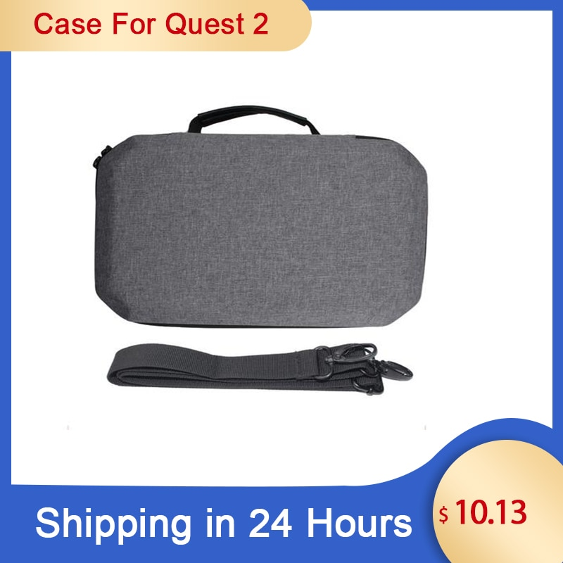 VR Accessories For Oculus Quest 2 VR Headset Travel Carrying Case EVA Storage Box For Oculus Quest 2 Controller Protective Bag недорого