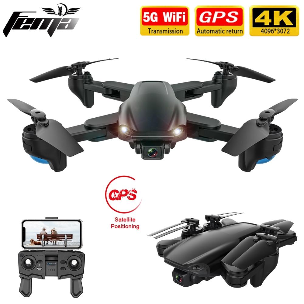FEMA SG701/ SG701S RC GPS Drone with 5G WiFi FPV 4K Dual HD Camera Optical Flow Foldable Quadcopter Mini Dron PK E520S SG907