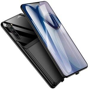 10000 мАч батарея чехол для Xiaomi Redmi Note 8 Note 8 Pro смартфон Чехол Smart Power Bank Note 8 Pro зарядное устройство чехол