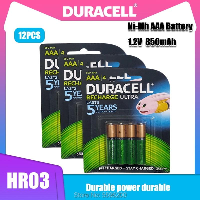 Usada para Canetas Recarregável de 12 Bateria Pces Duracell Aaa Ni-mh Eletrônicas Calculadoras Etc Etc-carregada 1.2v 850mah