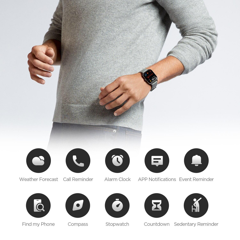 [Amazfit GTS] В наличии глобальная версия Смарт-часы 5ATM Водонепроницаемый плавательный Smartwatch 14 дней Батарея-2