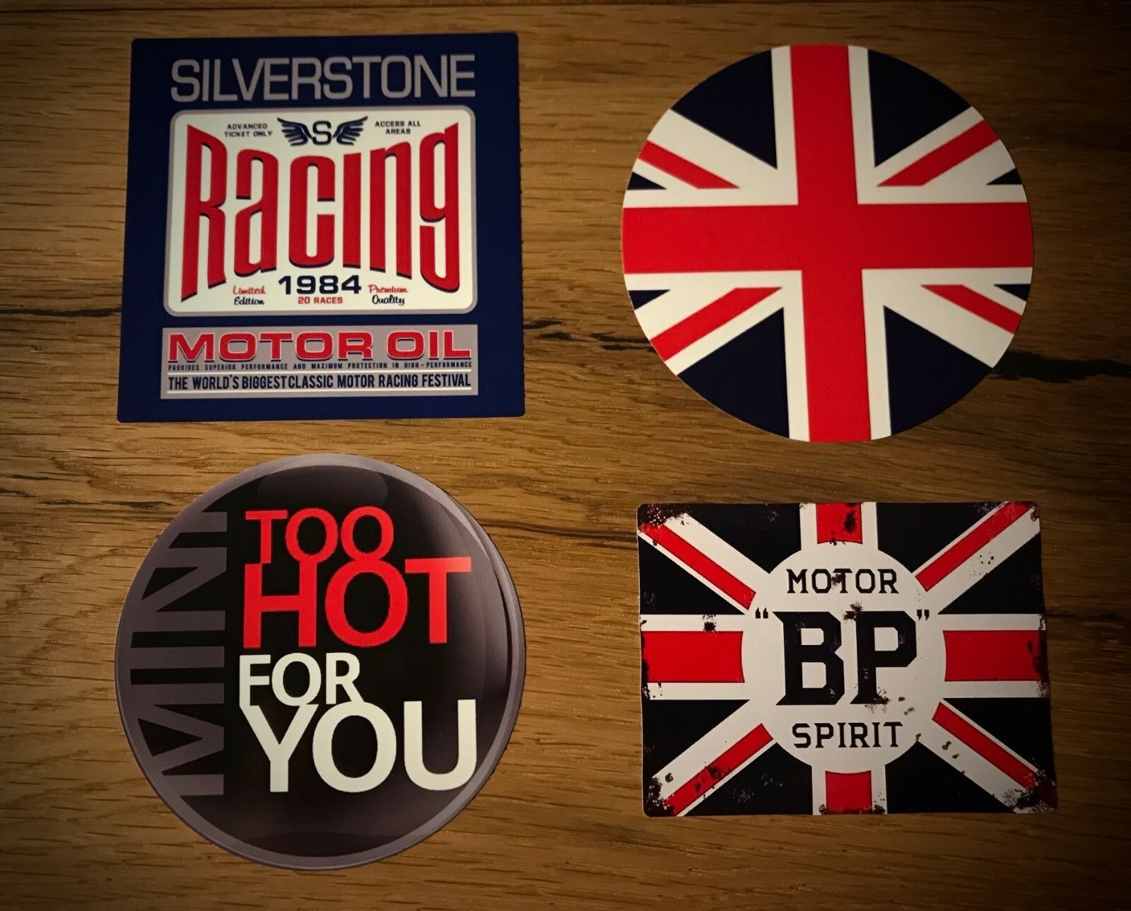 Sticker S D One JCW R55 F55 UK 1300 MPI Vintage Car SPI TOP Set Creative Stickers  Oem