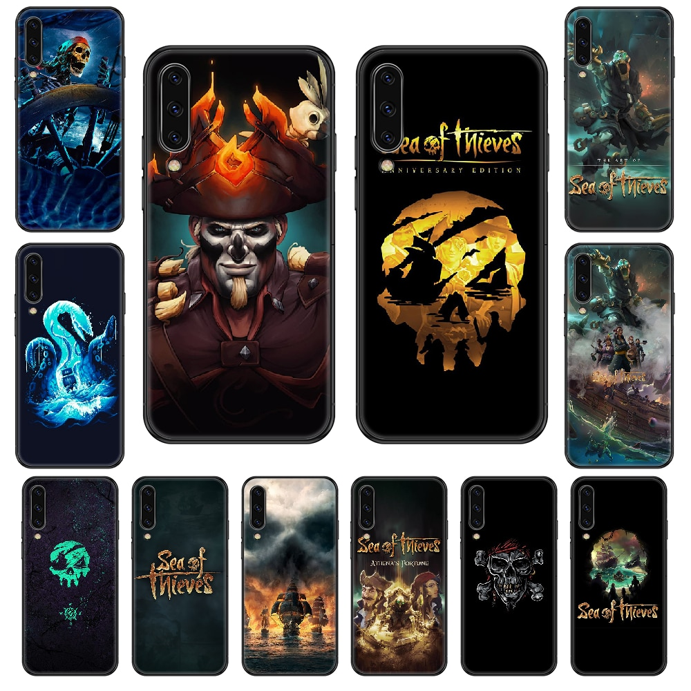 Sea of Thieves Phone case For Samsung Galaxy A 3 5 8 9 10 20 30 40 50 70 E S Plus 2016 2017 2018 2019 black trend funda tpu