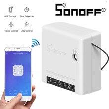 Sonoff MINI DIY APP Smart Fernbedienung Timer Zeitplan Stimme Power-auf Status DIY Modus Zwei Weg Wifi Smart schalter Smart Home