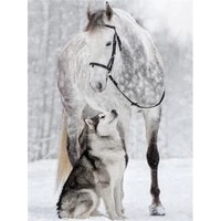 diy diamond painting horse diamonds embroidery dogs diamond mosaic sale full drill round animals rhinestones pictures