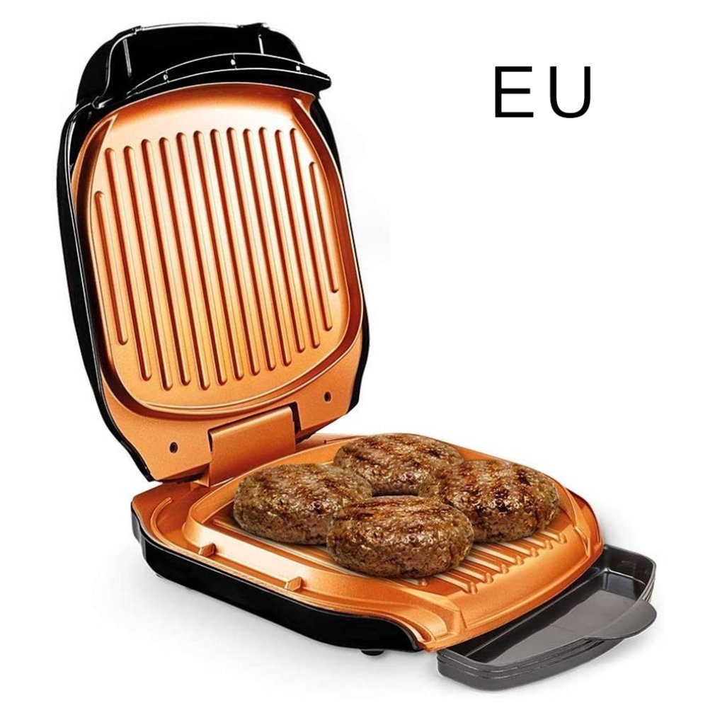 1600w electric shabu roasted pot multifunctional electric pan grill bbq grill raclette grill electric hotpot with grill pan Electric BBQ Grill Household Barbecue Machine Grill Electric Hotplate Smokeless Grilled Meat Pan Electric Grill