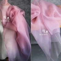crepe tulle fabric lilac organza diy patchwork scarf veil background decor fluffy skirt wedding dress lace designer fabric