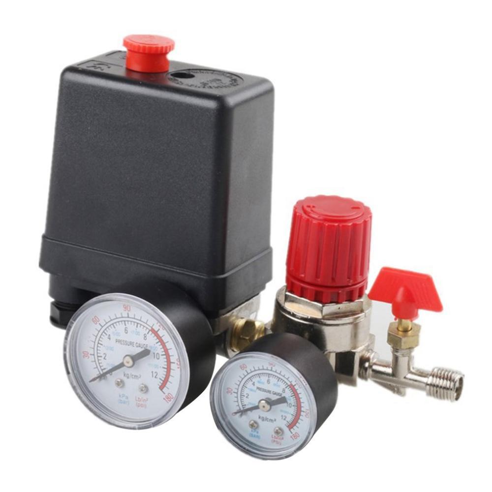 Переключатель давления, воздушный клапан, манометр компрессора, регулятор, насосы, обслуживание автозапчастей