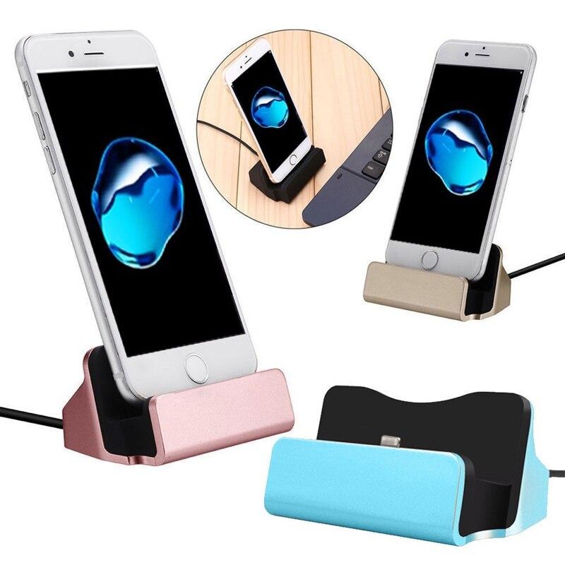 الهاتف شحن حوض محطة USB كابل البيانات آيفون هواوي شاومي LG سامسونج مايكرو USB/نوع-C/IOS سطح المكتب لرسو السفن شاحن