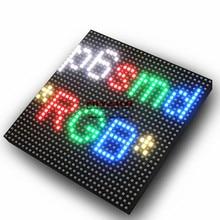 Panel exterior matriz LED P6 192x192mm 32x32 píxeles a todo Color SMD RGB HUB75 módulos de pantalla LED