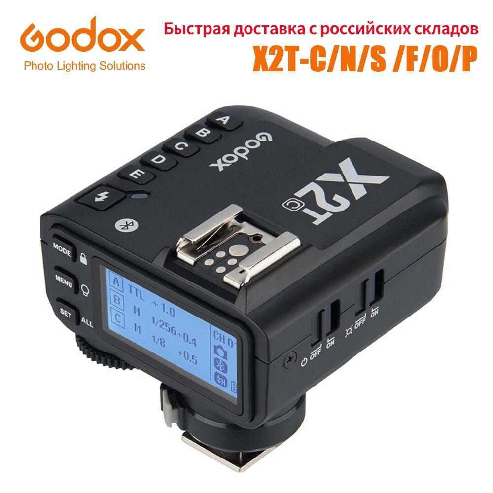 Godox X2T-C/N/S/F/O/P TTL 1/8000s HSS فلاش لاسلكي الزناد لكانون نيكون سوني فوجي أوليمبوس بنتاكس