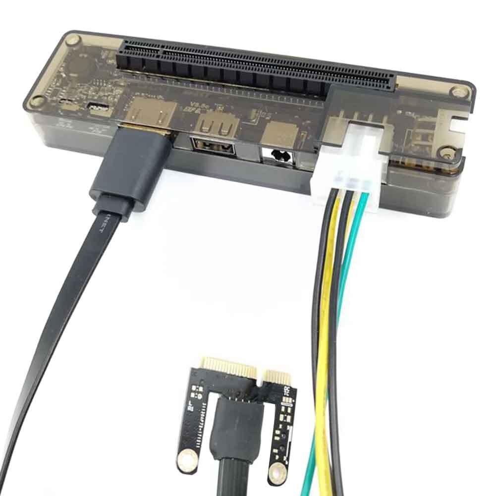 Mini placa de vídeo, doca de placa de vídeo externa ngff pci e exp gdc expresscard, interface para a fera, gráficos externos retangular
