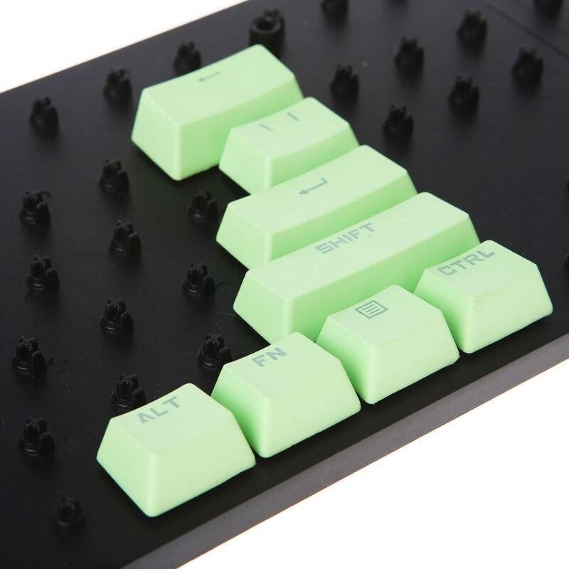 Teclado mecánico Multicolor PBT de 14 teclas para Cherry MX 95AD