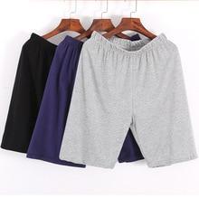 Men's Sleepwear Lounge Shorts Underwear Cotton Solid Thin Summer Comfortable Home Boxer Shorts Casua