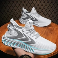 2021 summer new mens sneakers fashion korean casual shoes breathable flying woven shoes student fashionable shoes mens shoes