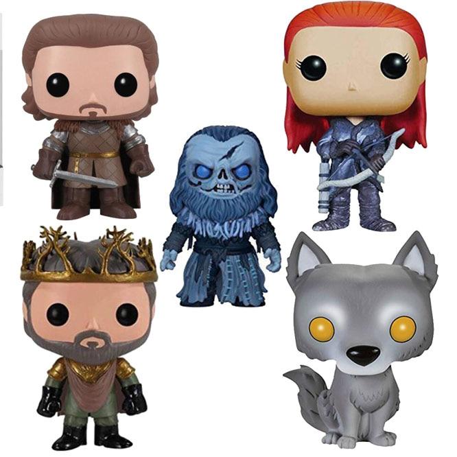 FUNKO POP Game of Thrones Jon Snow Collectible Model Toys Lannister Vinyl Action Figures Toys