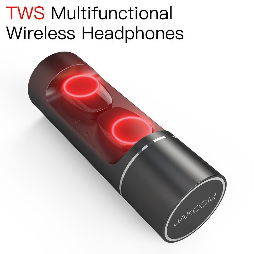 JAKCOM TWS Super inalámbrico auricular nuevo producto como pocky único aparatos electrónicos sílable s101 usb uv light smartphone gaming