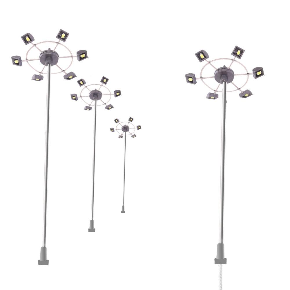 AliExpress - Railway Train Model Railroad Lamppost Lamps Street 3V LED Lights for HO OO N Z Scale Building Landscape Scenery
