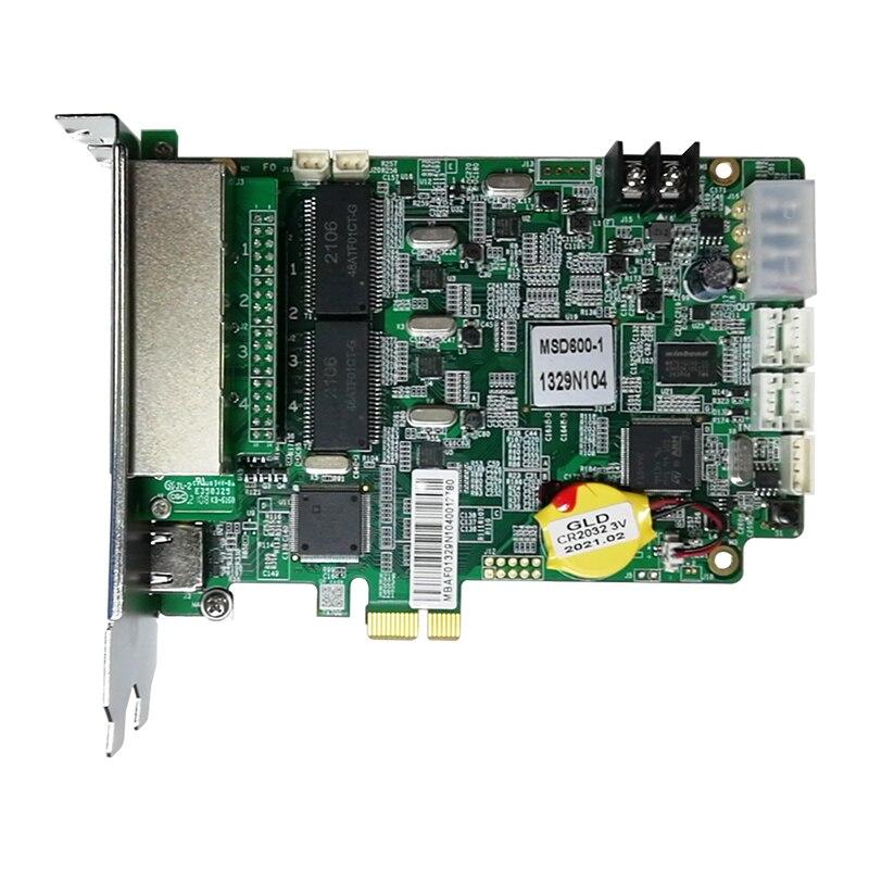 Novastar MSD600 كامل اللون led التحكم إرسال بطاقة 4 منفذ كبير إرسال بطاقة شاشة led كبيرة