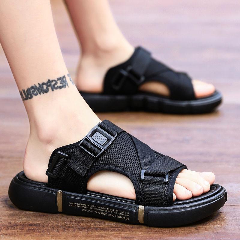 2021 new summer men's slippers for leisure sports  men sandals