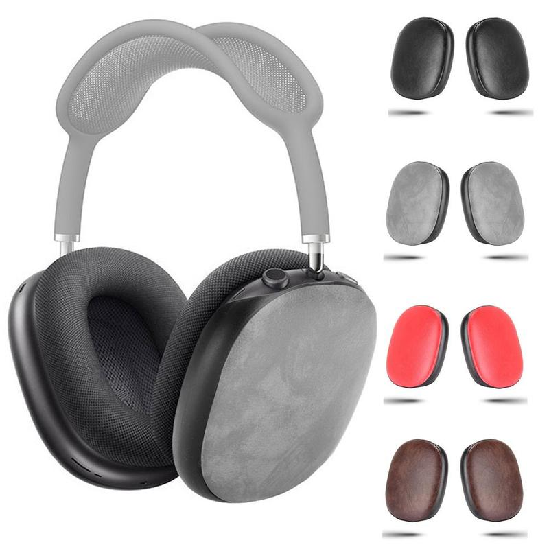 1 Pair Anti-Scratch Headset Case Anti-drop Silicone Wireless Bluetooth Headphones Protective Cover For Airpods max Headset