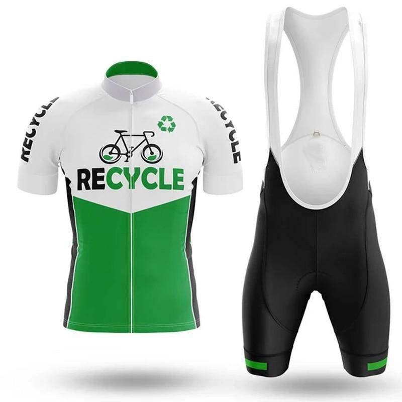 SPTGRVO LairschDan 2020 green cycling jersey set style women bicycle clothes fietsshirt dames maillot ciclismo men mtb bike suit