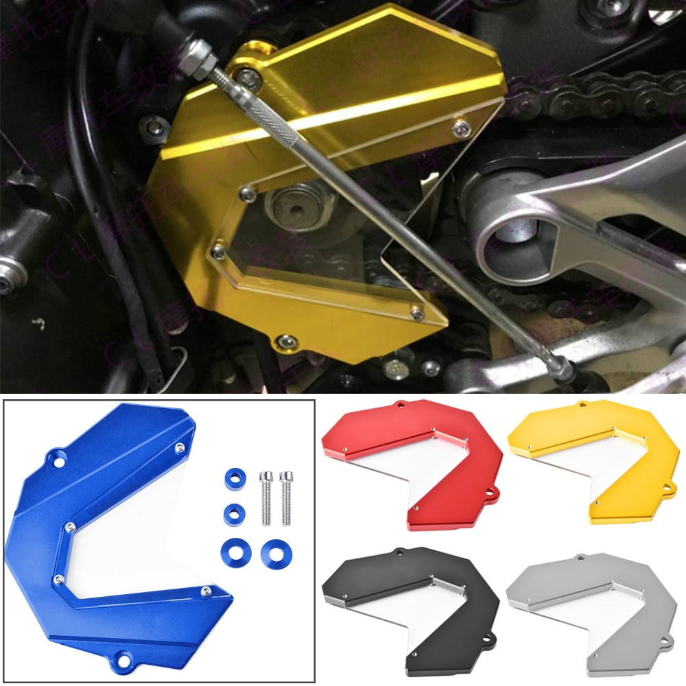 Front Chain Sprocket Cover Guard For Yamaha MT-09 FZ-09 MT FZ 09 FZ09 MT09 Tracer 900 2013 2014 2015 2016 2017 2018 2019 2020 недорого
