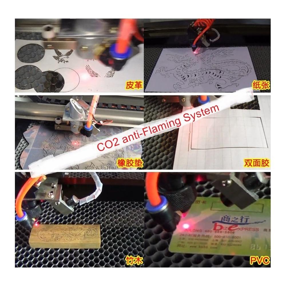 Anti-flaming System Kit DIY CO2 Laser Antiflaming System  Blowing Flame Retardant System with Air Pump Air Compressor enlarge