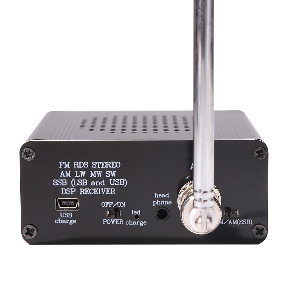 Si4732 SSB Speaker Player w/ Antenna Digital Full Band Portable Radio Receiver FM AM SSB Speaker Music Player enlarge
