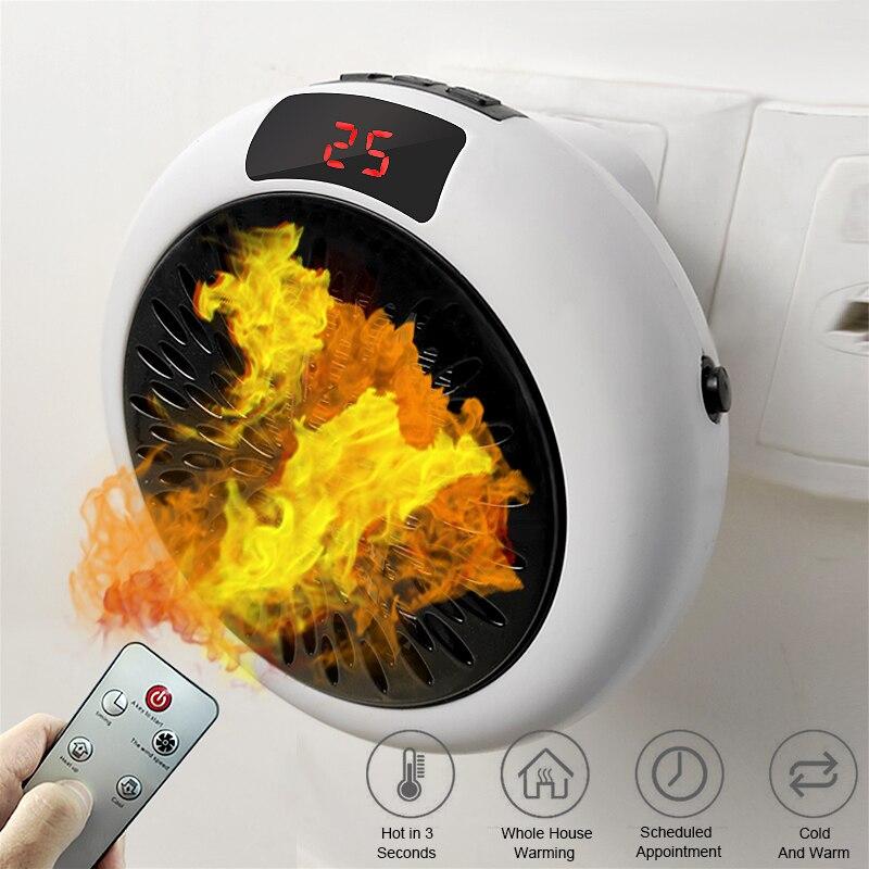 Электрический обогреватель для дома 900 Вт, бытовой обогреватель, Электрический обогревающий вентилятор, офисные комнатные обогреватели, уд...