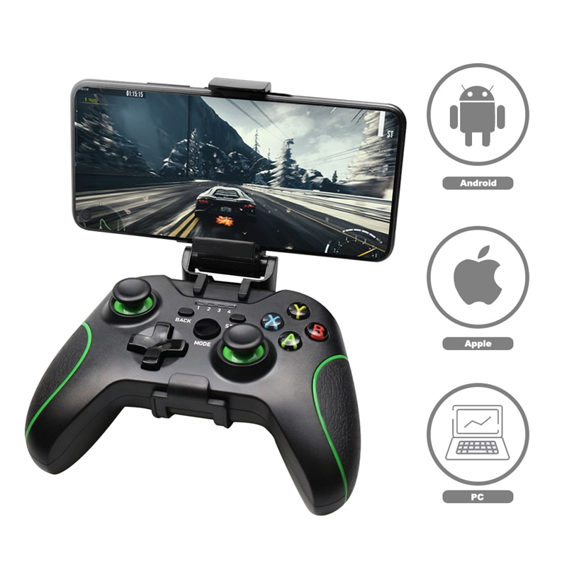 Беспроводной геймпад для PS3/IOS/Android Phone/PC/TV Box, джойстик 2,4G, джойпад, игровой контроллер для Xiaomi, аксессуары для смартфона