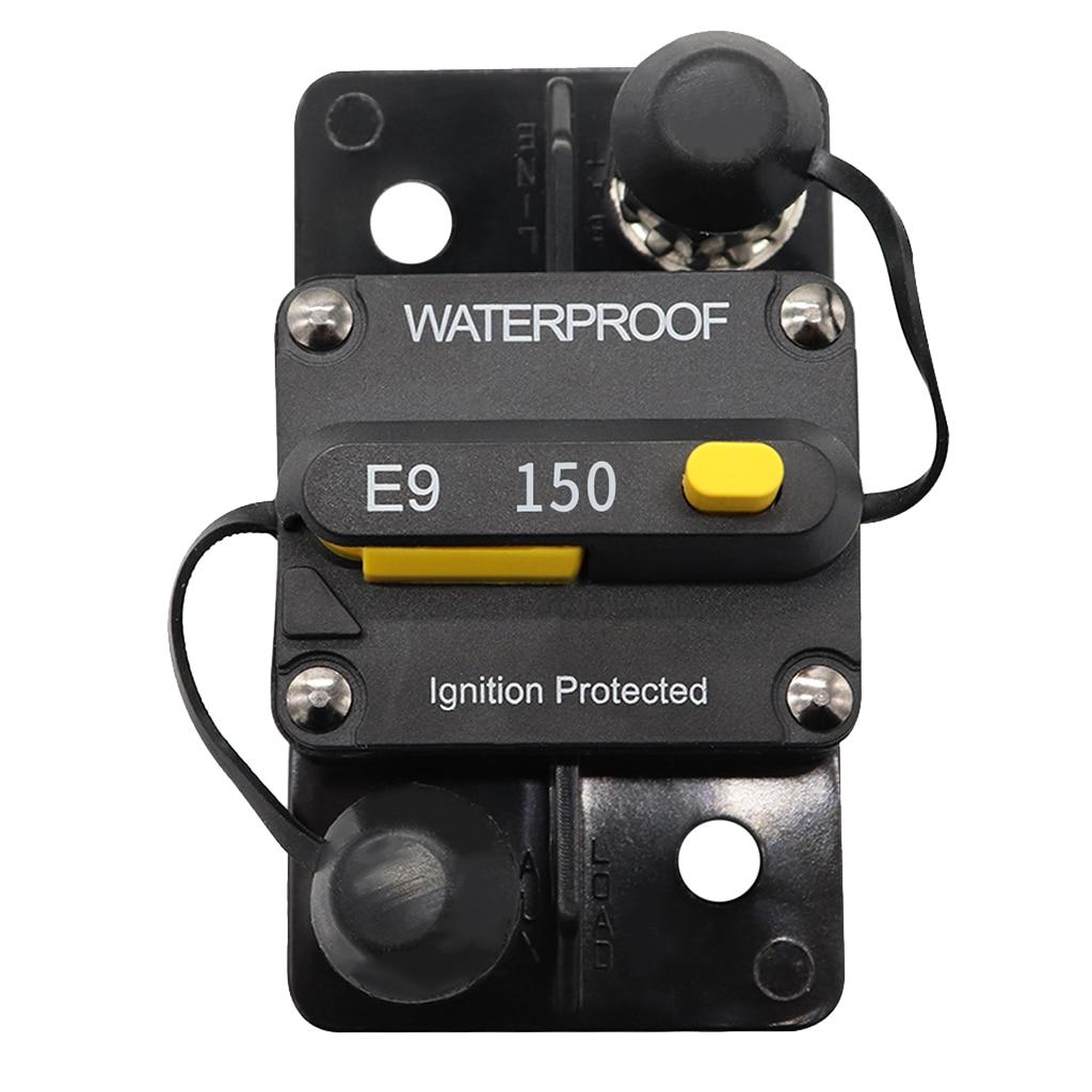 Interruptor de circuito de reinicio Manual de 150 amperios 12v/24v, accesorio de barco, Motor de arrastre