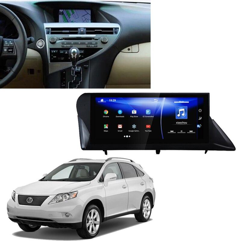 LiisLee coche reproductor Multimedia GPS Radio de Audio para Lexus RX 350 AL10 2009 ~ 2011 Android actualización pantalla HD NAVI